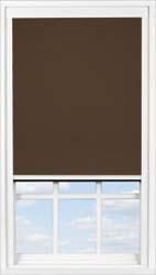 Main display image for BlocOut™ product with Cocoa Bean Blackout fabric