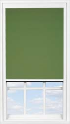 Main display image for BlocOut™ product with Rich Olive Blackout fabric
