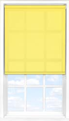Main display image for Roller Blind product with Buttercup Translucent fabric
