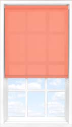 Main display image for Roller Blind product with Coral Sunset Translucent fabric