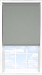 Main display image for Roller Blind product with Marl Grey Blackout fabric