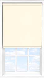 Main display image for Roller Blind product with Porcelain Blackout fabric