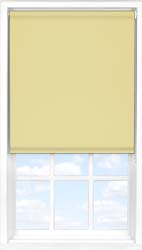 Main display image for Roller Blind product with Primrose Blackout fabric