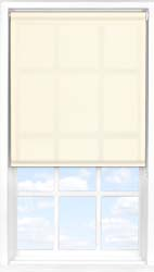 Main display image for Roller Blind product with Soft Cream Translucent fabric