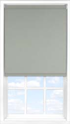 Main display image for Roller Blind product with Silver Glimmer Metallic Blackout fabric