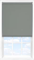 Main display image for Roller Blind product with Sooty Grey Blackout fabric