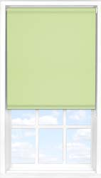 Main display image for Roller Blind product with Wasabi Green Blackout fabric