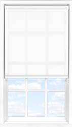 Main display image for Roller Blind product with Blossom White Translucent fabric