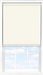 Main display image for Roller Blind product with Blossom White Blackout fabric
