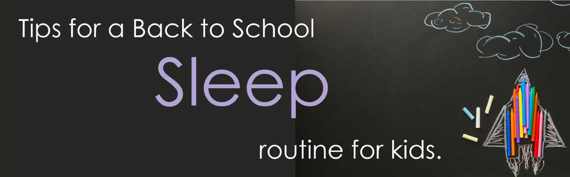 Back to School Sleep Tips with Bloc Blinds Blackout Blinds for Kids