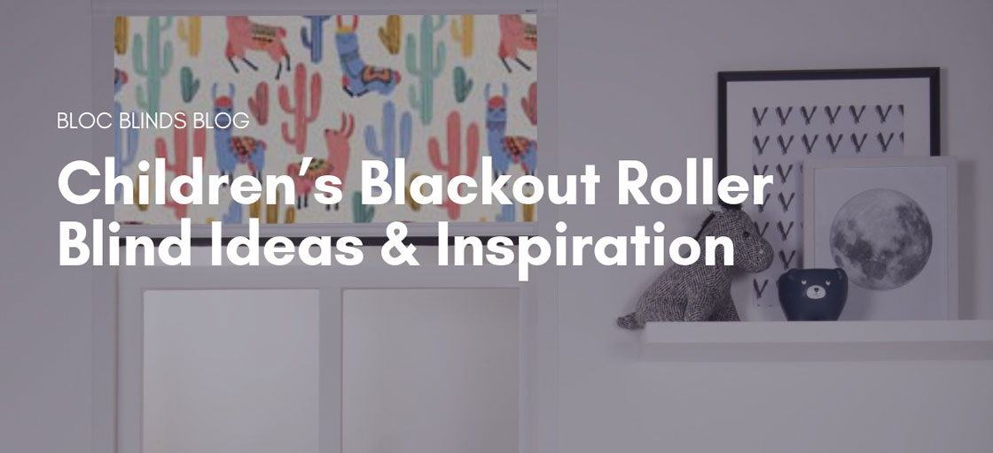 Children's Blackout Roller Blinds Ideas and Inspiration