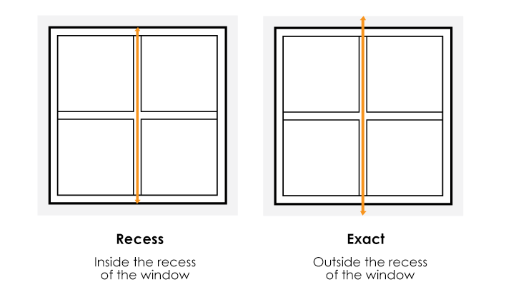 How to measure window height
