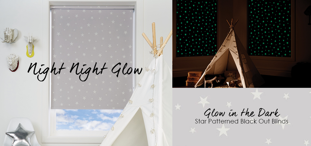 Glow in the Dark Roller Blinds Made to Measure in UK