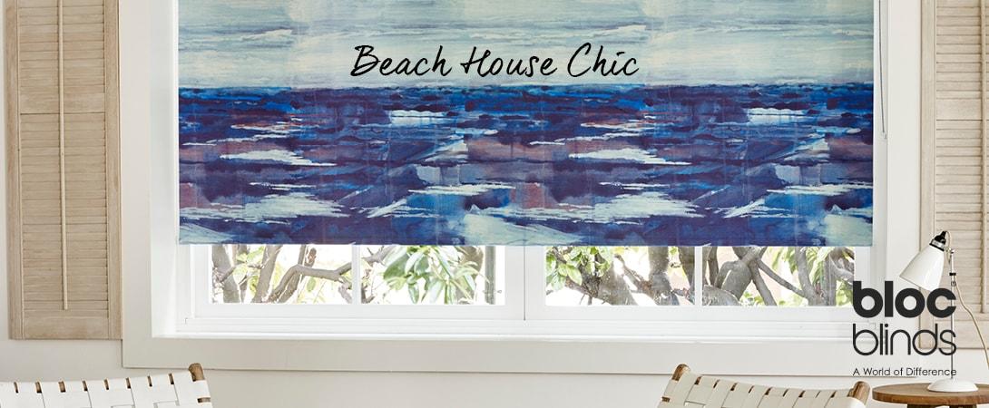 Coastal Beach House Decor form Bloc Blinds
