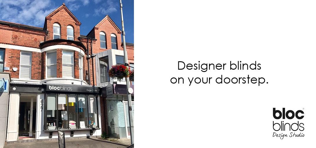 Bloc Blinds Design Studio Belfast Lisburn Road