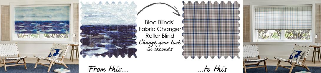 Blue Roller Blinds Coastal Decor Ideas
